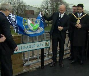 Alan Shearer Way