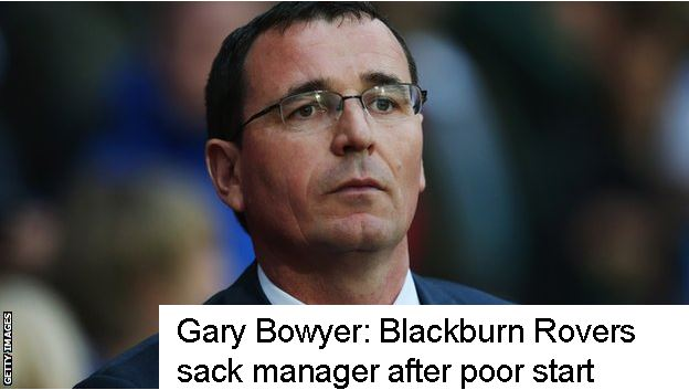 Gary Bowyer Sacked